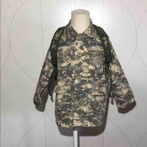 ARMY RANGER JACKET & BACKPACK SET digital camo XS